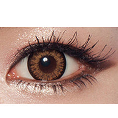 GEO Starmish Brown 1 pair (2 lenses) - EyeCandy's