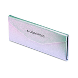 Holographic Tri-Fold Glasses Case colored contacts circle lenses - EyeCandy's
