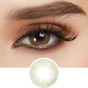 EyeCandys Glossy Vista Green colored contacts circle lenses - EyeCandy's