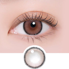 i-DOL Roze Airy Baby Brown colored contacts circle lenses - EyeCandy's