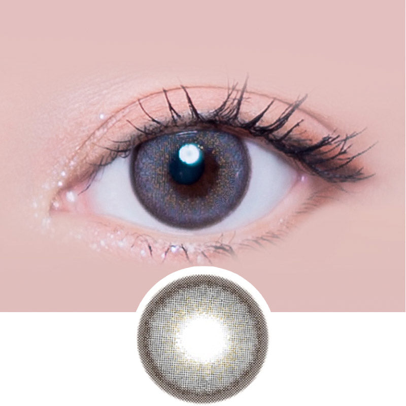 i-Sha Melo Art Blackberry colored contacts circle lenses - EyeCandy's