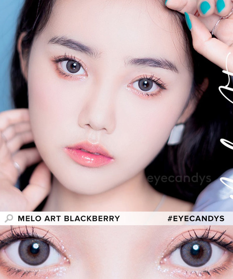 Buy i-Sha Melo Art Blackberry Colored Contacts | EyeCandys