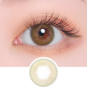 i-DOL Desire Lime Green colored contacts circle lenses - EyeCandy's