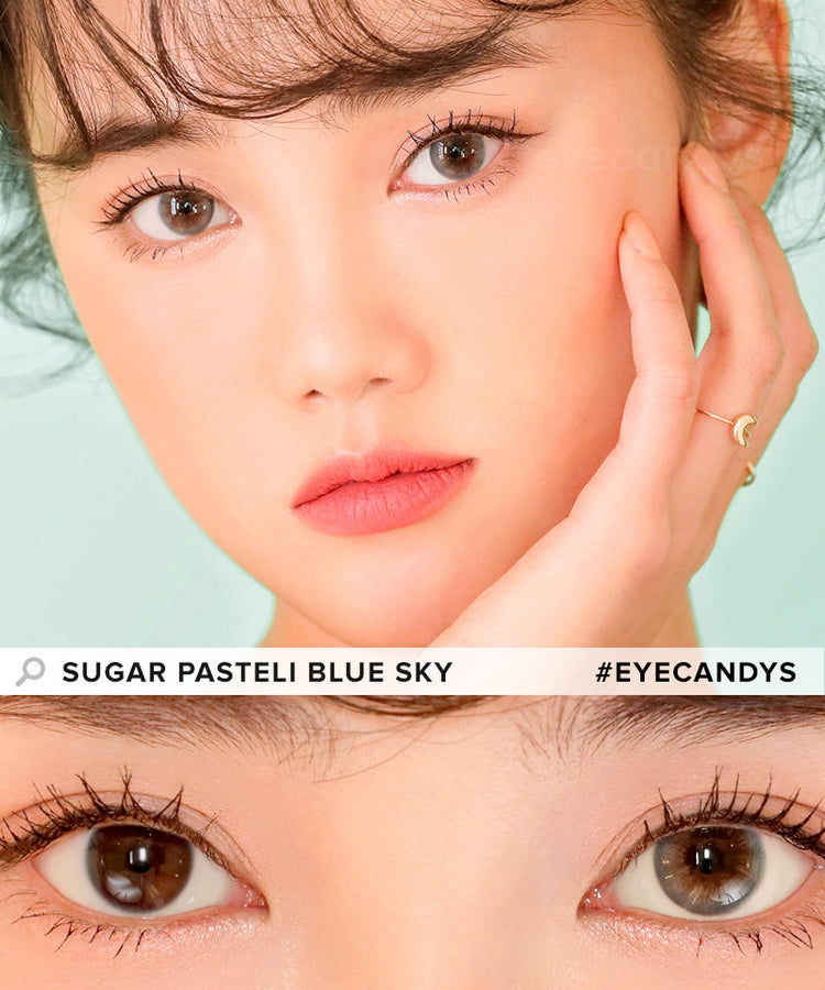 Buy i-DOL Sugar Pasteli Blue Sky Color Contacts | EyeCandys