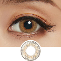 Lilmoon 1-Day Cream Beige colored contacts circle lenses - EyeCandy's