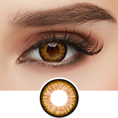 GEO Starmish Brown colored contacts circle lenses - EyeCandy's