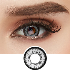 GEO Super Angel Grey colored contacts circle lenses - EyeCandy's