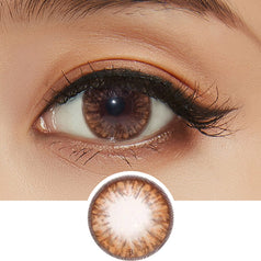 GEO Grang Grang Big Brown colored contacts circle lenses - EyeCandy's
