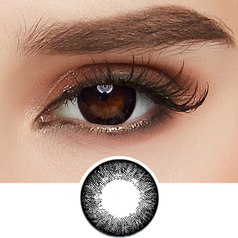 GEO Starmish Black colored contacts circle lenses - EyeCandy's