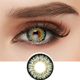 GEO Princess Mimi Apple Green colored contacts circle lenses - EyeCandy's