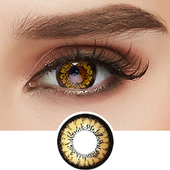 GEO Super Angel Brown colored contacts circle lenses - EyeCandy's
