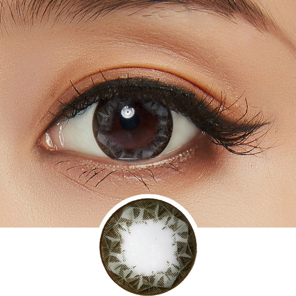 NEO Ruby Queen Grey colored contact lenses - EyeCandys