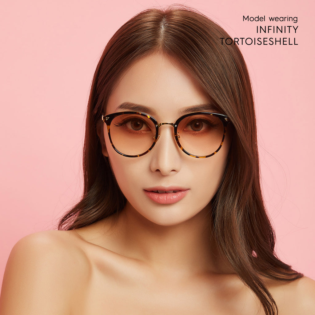 Infinity Oversized colored contacts circle lenses - EyeCandy's