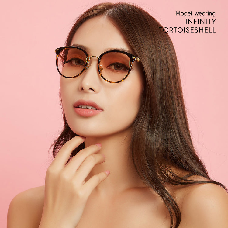 Infinity Prescription Anti Blue Light Glasses Filter