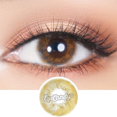 JennyBee Caribbean Brown colored contacts circle lenses - EyeCandy's