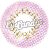 JennyBee Caribbean Pink colored contacts circle lenses - EyeCandy's