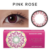 Bausch & Lomb Lacelle Diamond Pink Rose (30 Pcs) colored contacts circle lenses - EyeCandy's