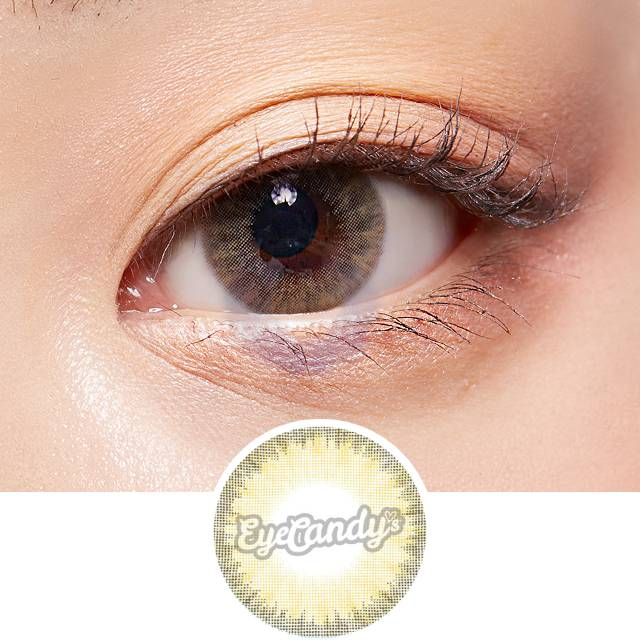Lenstown Holdnight Brown colored contacts circle lenses - EyeCandy's