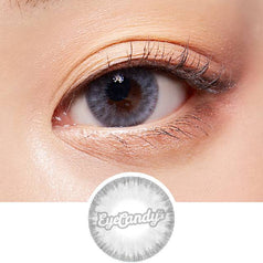 Lenstown Holdnight Grey colored contacts circle lenses - EyeCandy's