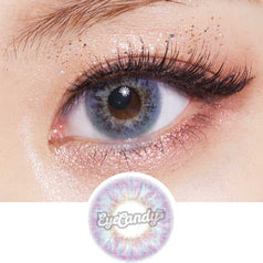 Lenstown Twinklow Violet colored contacts circle lenses - EyeCandy's