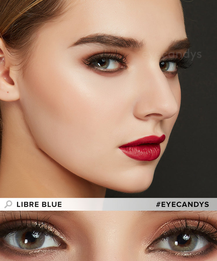 Buy EyeCandy's Libre Blue Colored Contacts Best | EyeCandys