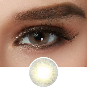 EyeCandys Libre Grey colored contacts circle lenses - EyeCandy's