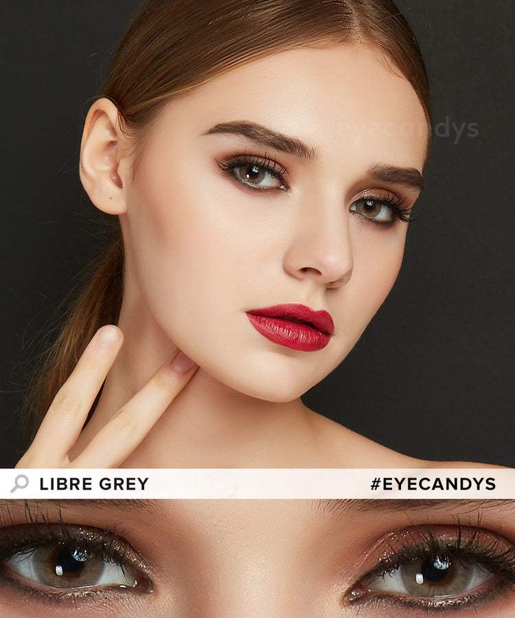 Buy EyeCandy's Libre Grey Colored Contacts Best | EyeCandys
