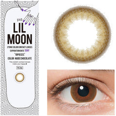 Lilmoon 1-Day Nude Chocolate 10 lenses/box - EyeCandy's