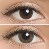 Lilmoon Monthly Water Water Blue-Grey (Prescription) colored contacts circle lenses - EyeCandy's