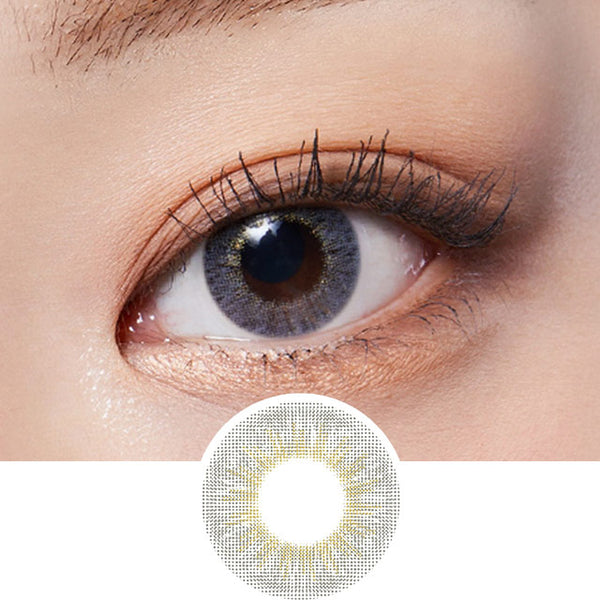 Lenstown Mystarry Grey colored contacts circle lenses - EyeCandy's