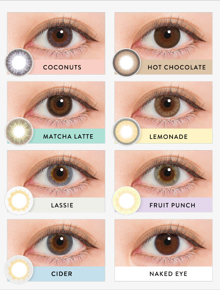 Buy N's Collection Cider Grey Coloured Contacts | EyeCandys