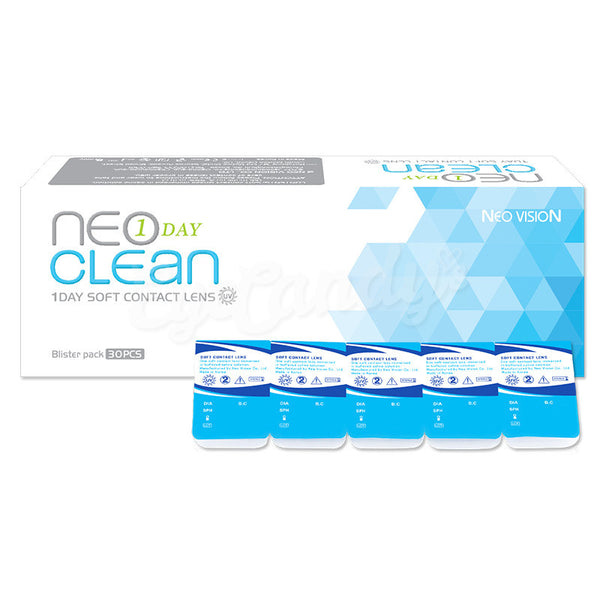NEO Clean 1-Day Contact Lenses (30 Pcs) 30 lenses/box - EyeCandy's