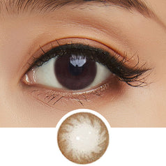 NEO Dali 2 Brown colored contacts circle lenses - EyeCandy's
