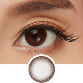 NEO Dali Chocolate Brown (KR) colored contact lenses - EyeCandys