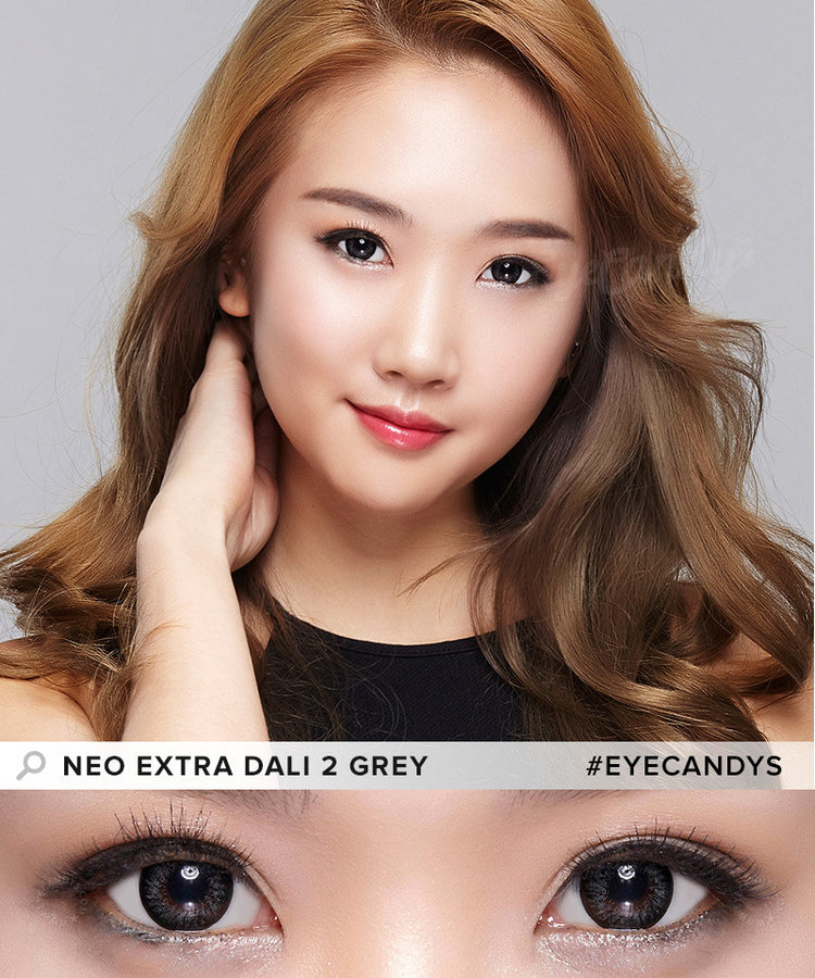 Buy NEO Extra Dali 2 Grey Circle Lenses | EyeCandys