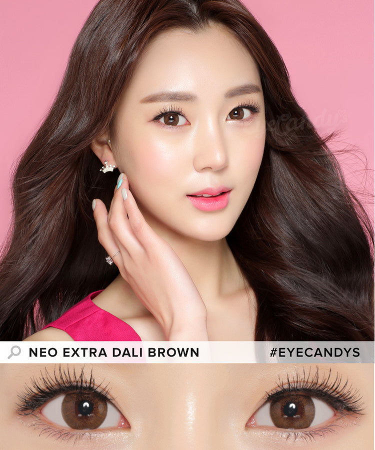 Buy NEO Extra Dali Brown Circle Lenses for Astigmatism | EyeCandys