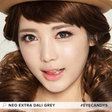 NEO Extra Dali Grey colored contacts circle lenses - EyeCandy's
