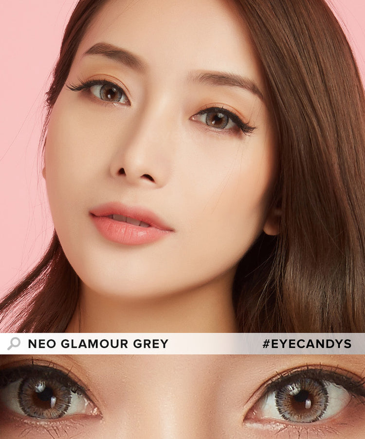 Buy NEO Toric Glamour Grey Colour Contact Lenses | EyeCandys