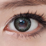 NEO Celeb Green colored contacts circle lenses - EyeCandy's