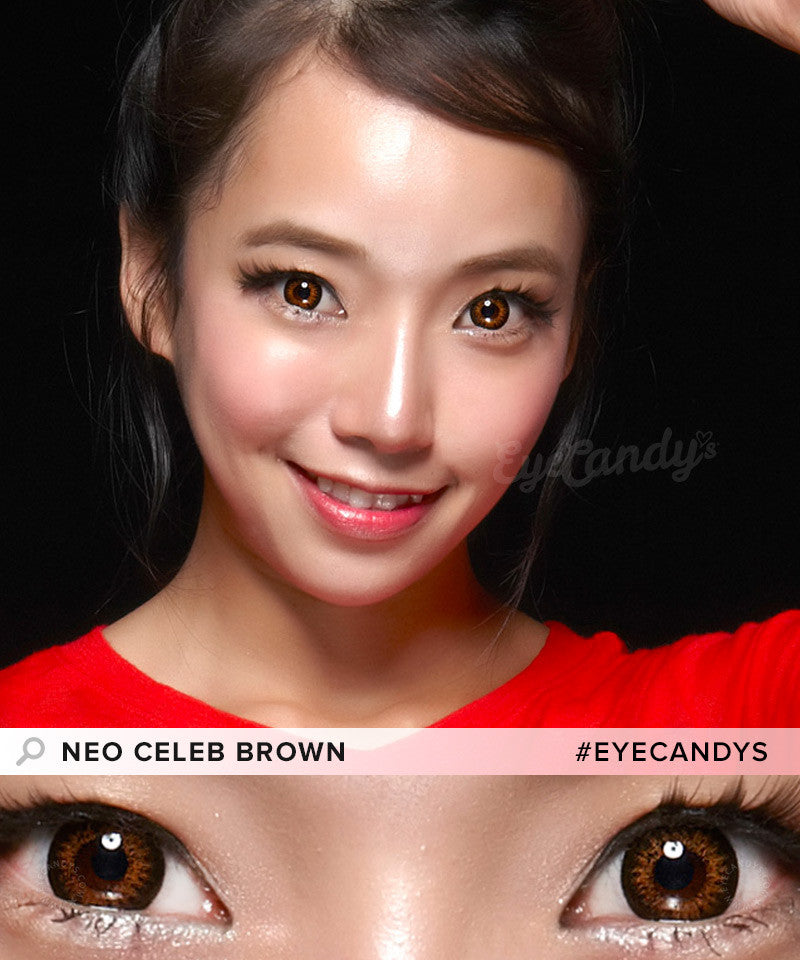 Buy NEO Celeb Brown Circle Lenses | EyeCandys