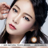 NEO Natural Touch Brown 1 pair (2 lenses) - EyeCandy's