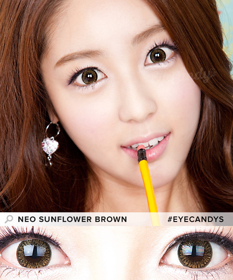 Buy NEO Sunflower Brown Colored Contacts | EyeCandys