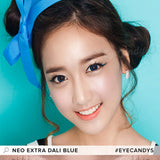 NEO Extra Dali Blue 1 pair (2 lenses) - EyeCandy's