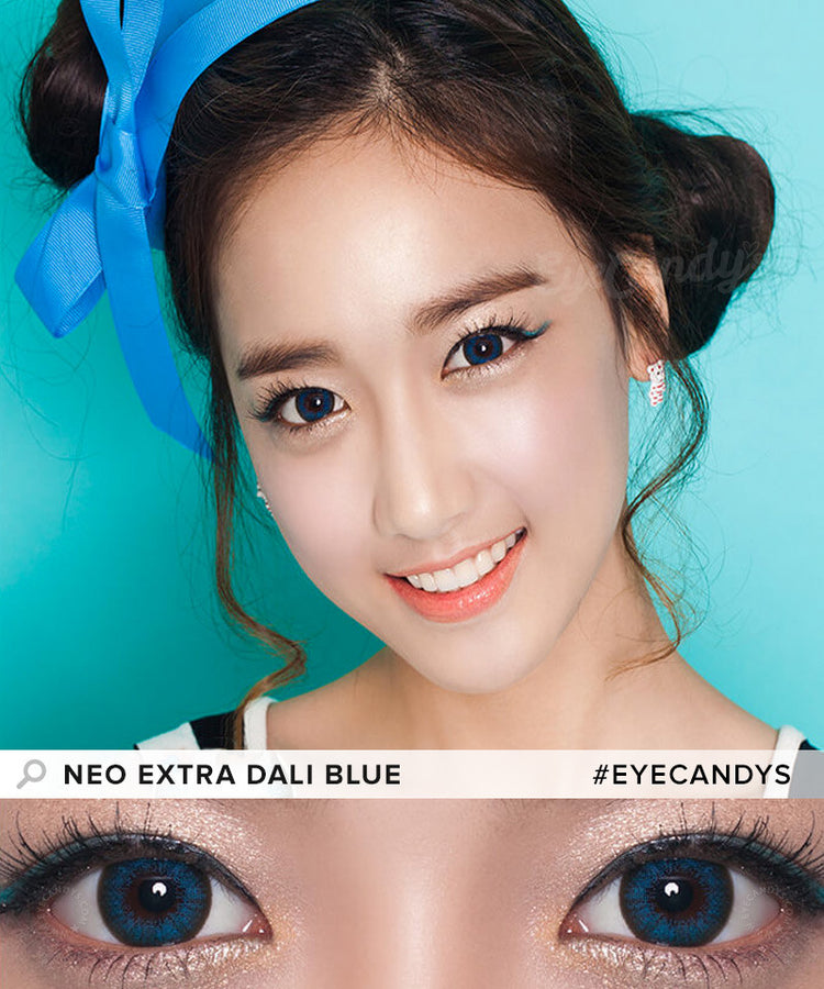 Buy NEO Extra Dali Blue Circle Lenses | EyeCandys