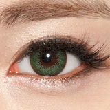 NEO Extra Dali Green colored contact lenses - EyeCandys