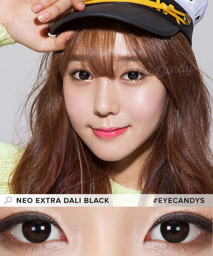 Buy NEO Monthly Extra Dali Black Circle Lenses | EyeCandys