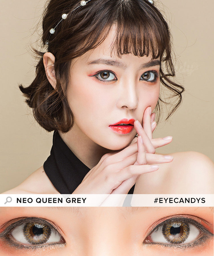 Buy NEO Queen 4 Tone Grey Colored Contacts | EyeCandys