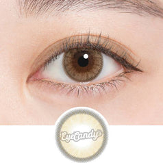 N's Collection Lemonade Brown colored contacts circle lenses - EyeCandy's