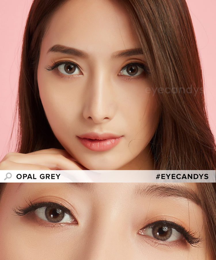Buy EyeCandys Opal Grey Coloured Contacts | EyeCandys