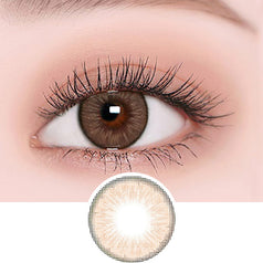 EyeCandys Radiance Hazel colored contacts circle lenses - EyeCandy's